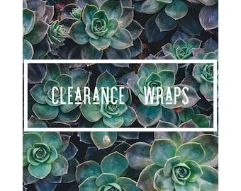 Clearance Newborn Wraps