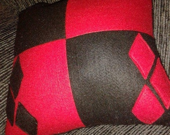 Harley Quinn pillow
