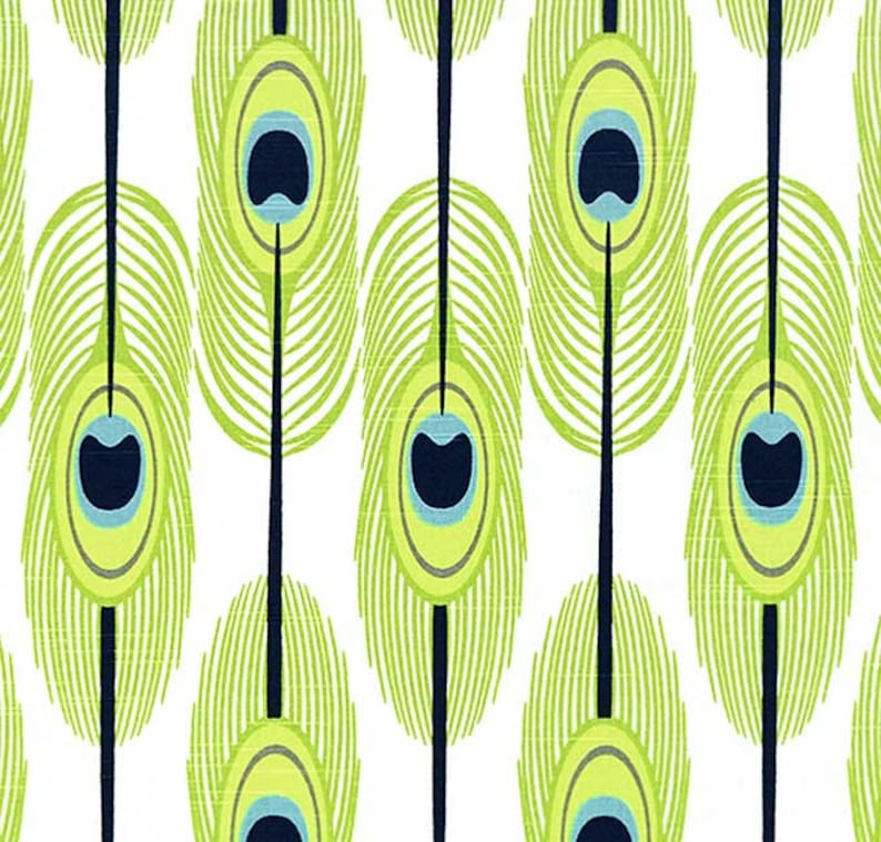 Premier Prints Feathers Fabric Sample