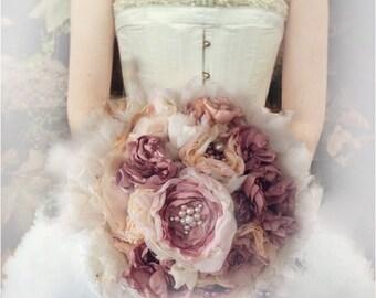 Bouquets et corsages de fleurs, Bouquets,Tous les accessoires, Accessoires,bouquet de tissus, Ceci est un dépôt de 50%