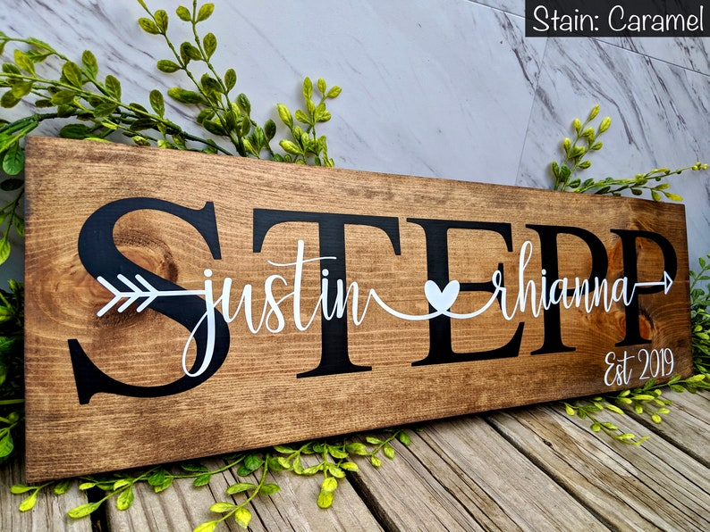 wedding gift sign for home