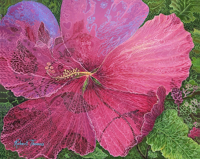 Featured listing image: Pink Hibiscus Dream
