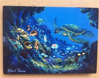 Turtle Cove - Robert Thomas -5x7 Plaque