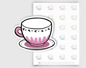ITM-060 | Teacup Planner Stickers