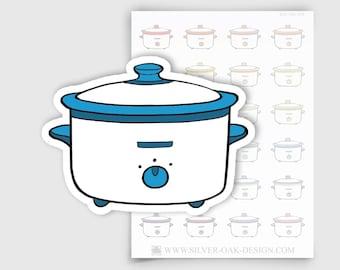 ITM-073   Crock pot Planner Stickers