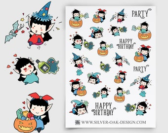WLW-009 | Willow the Witch Party Planner Stickers
