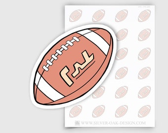 ITM-055   Football Planner Stickers