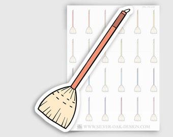 ITM-019 | Broom Planner Stickers