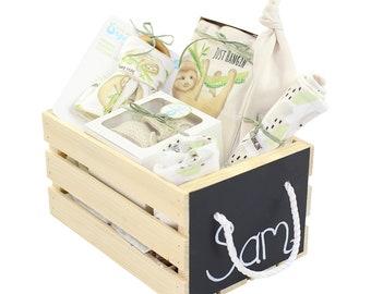 01988536e5f2 Organic Baby Gift Basket
