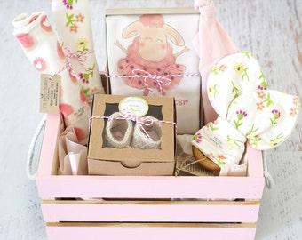0620ef9c9e69e Baby girl gift basket