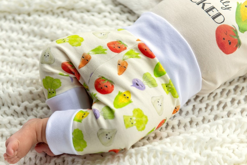 Gender Neutral Clothes Veggie Baby Clothes Farm Baby Outfit Baby Shower Gift Organic Vegetable Baby Gift Organic Baby Gift Basket