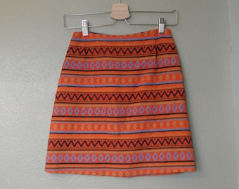 Vintage 70s/80s College Town A Line Skirt