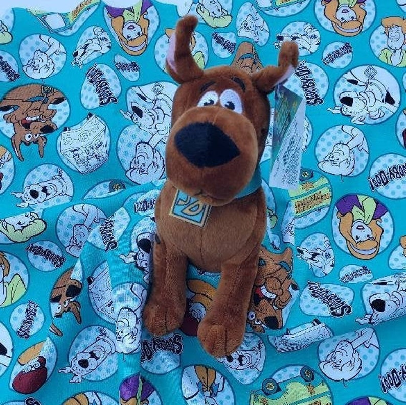 Lovey Scooby Doo Plush Security Blanket for Babies & Toddlers