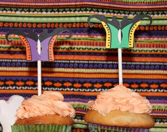 Halloween Witch Boots Cake Toppers