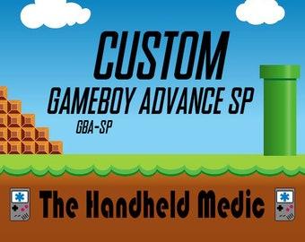Custom Made Nintendo Gameboy Advance SP