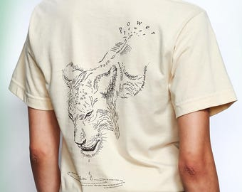 Lion Tee, Mark Z. Danielewski, Literary Shirt, The Familiar