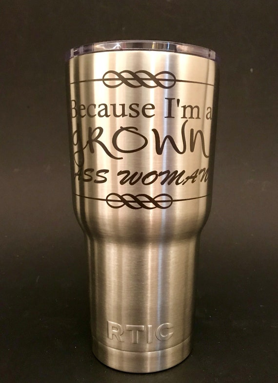 30oz Rtic Tumbler Laser Etched Personalized Perfect Wedding Etsy