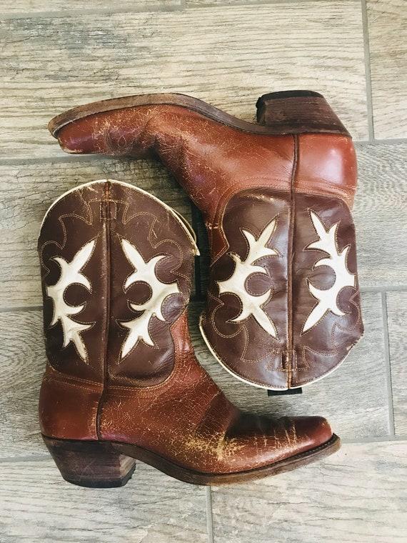 Vintage Goding Cowboy Boots, circa 1950's