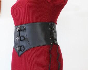 serre taille   ceinture large   ceinture médiévale   ceinture large femme   ceinture  large en cuir 6f656c44d84