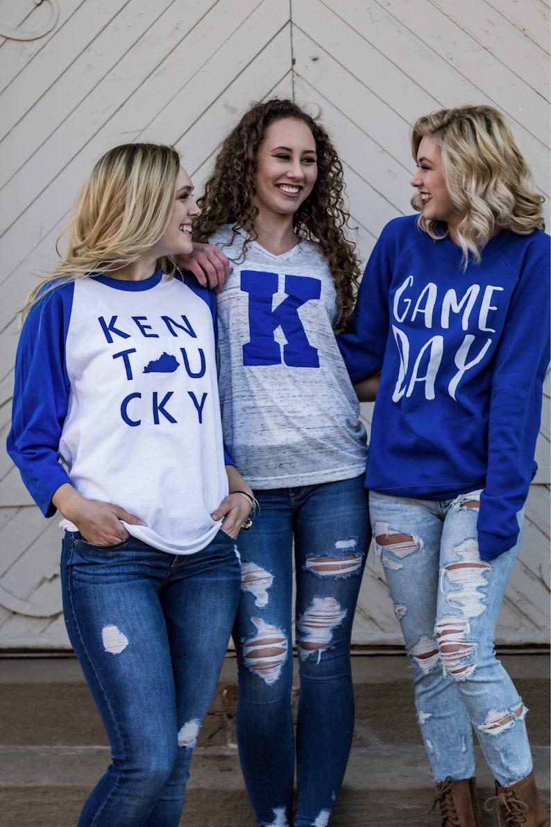 Game Day Sweatshirt  Kentucky Sweatshirt  University of Kentucky  Football Sweatshirt  Kentucky State  Kentucky Wildcats Sweatshirt