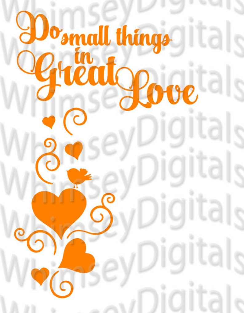 Download Small Things in Great Love Valentine Digital Download SVG ...