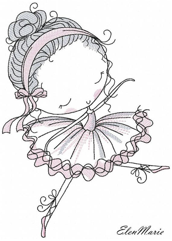 ballerina machine embroidery design embroidery ballerina etsy 106 Recoilless Rifle in Vietnam image