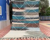 Hanbel Moroccan rug Authentic Handmade Hanbel Beni Ourain 5x9