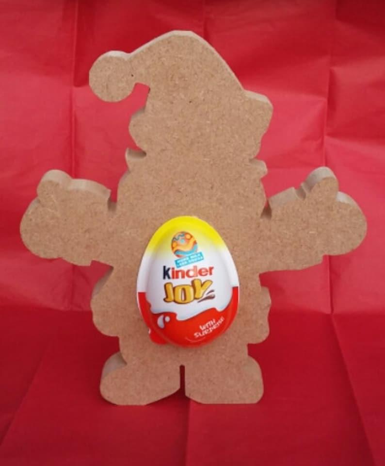 Dinosaur Freestanding MDF Kinder Egg Holder Easter Gift Blank craft Shape