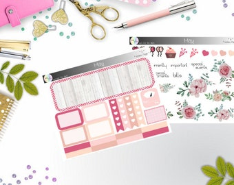 notes page - Mai  (Happy Planner Stickers)