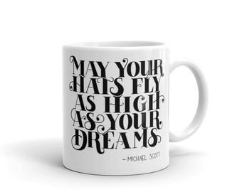 Mug - The Office US - Michael Scott Quote - Hand Lettering - Inspirational Quote