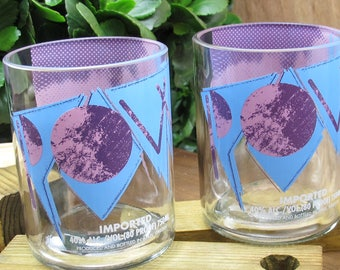 Absolut Acai Bottle Upcycled Drinking Glasses Great Girts Now