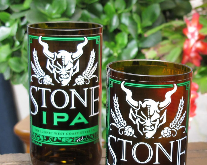 cool beer gifts stone iconic IPA beer glasses cool  glass gift gift for papa corporate gifts gift idea for beer beer valentines gift ideas
