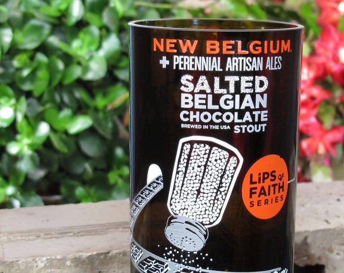 new belgium salted chocolate stout beer glass tumbler gift ideas beer lovers badass gift idea cool birthday gift cool beer gifts for mancave