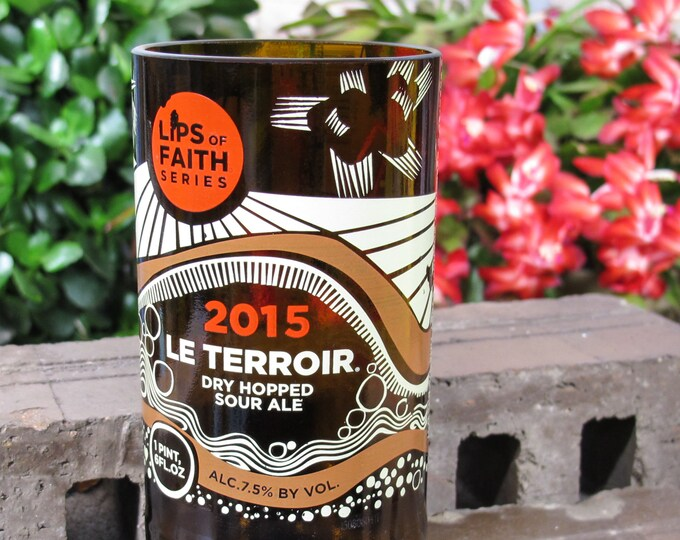 beer gift for husband new belgium le terroir 2015 drinking inspired gift bestfriend present beer pint glassware gift for dad cut bottle