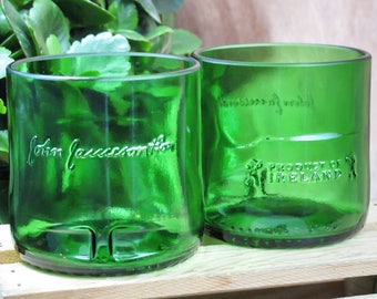 whiskey dad gift jamesons irish whiskey set of 2 glasses perfect gift for dad manly mancave uncommon unique custom glassware for drunk