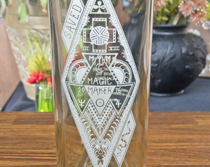 Saved Majic Maker Tall Tumbler or Flower Vase