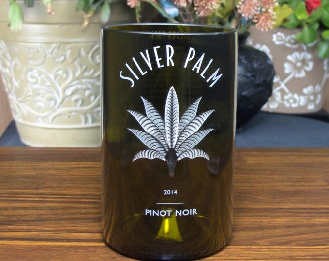 Silver Palm pinot noir wine bottle reclaimed tumbler i