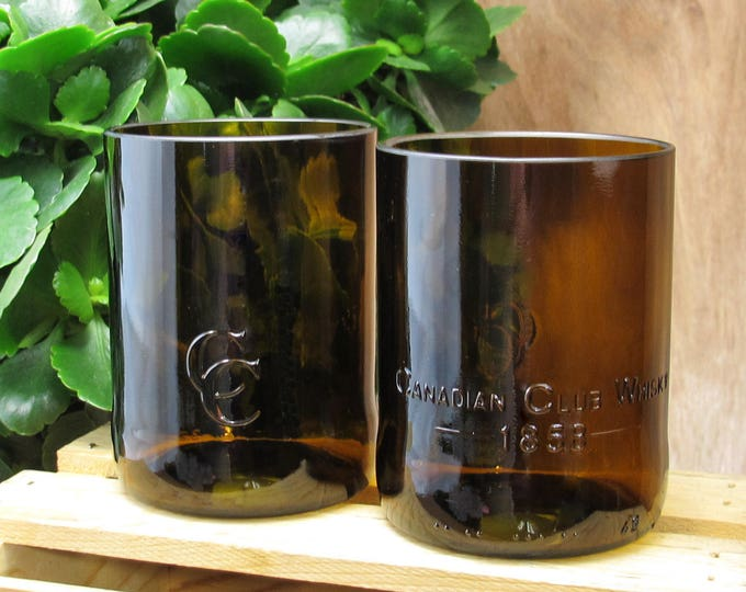 best husband gift idea Canadian Club Whiskey glass set idea for father gift grandfather gift idea fiance gift idea gift for men manly gift