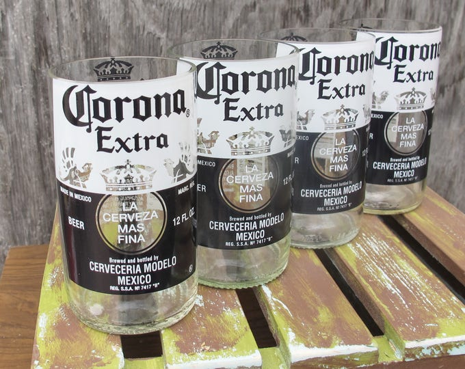 beer xmas gift corona extra mens gift best beer gift for husband recycled beer bottles drinking glass set fiance gift idea gift ideas for