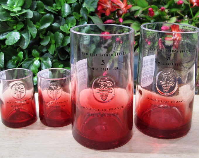 uncommon gift idea ciroc red berry tumblers glassware gift for her idea for fiance gift valentines idea husband present unusual gift for men