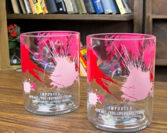 Absolut Raspberi Glasses Set of 2