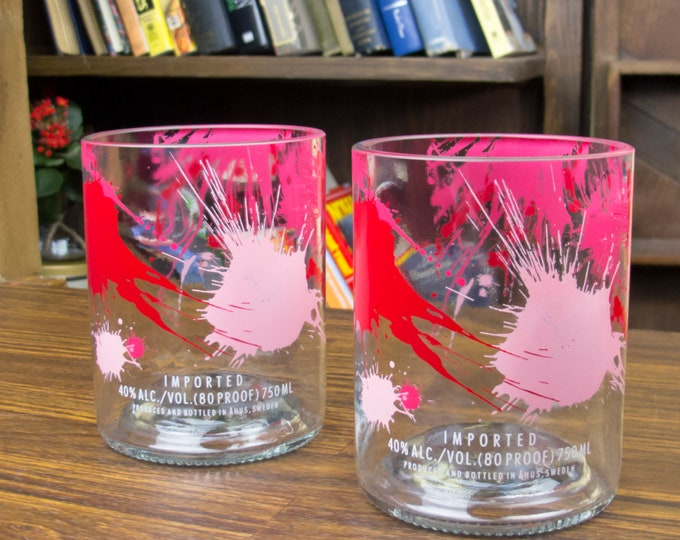 Absolut Raspberi Glasses Set of 2