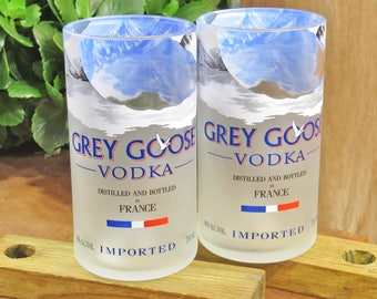 Grey Goose Vodka 16oz Tumbler Set of 2