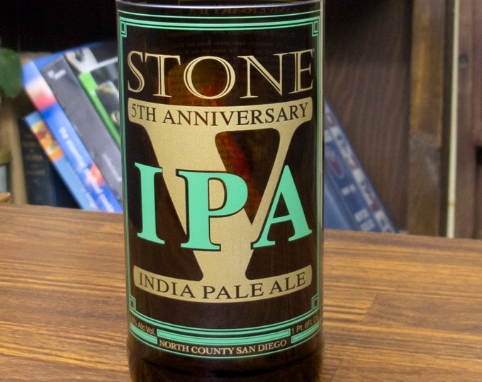Beer Tasting Gift Stone 5th Anniversary IPA Beer Tumbler Gift For Men Beer Geek 21st Bday Bachelor Awesome Manly Gift Alcohol Husband Drunk