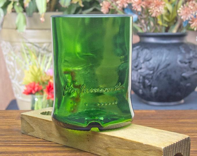 Jameson Irish Whiskey Limited Reserve bottle upcycled tumbler guy gift