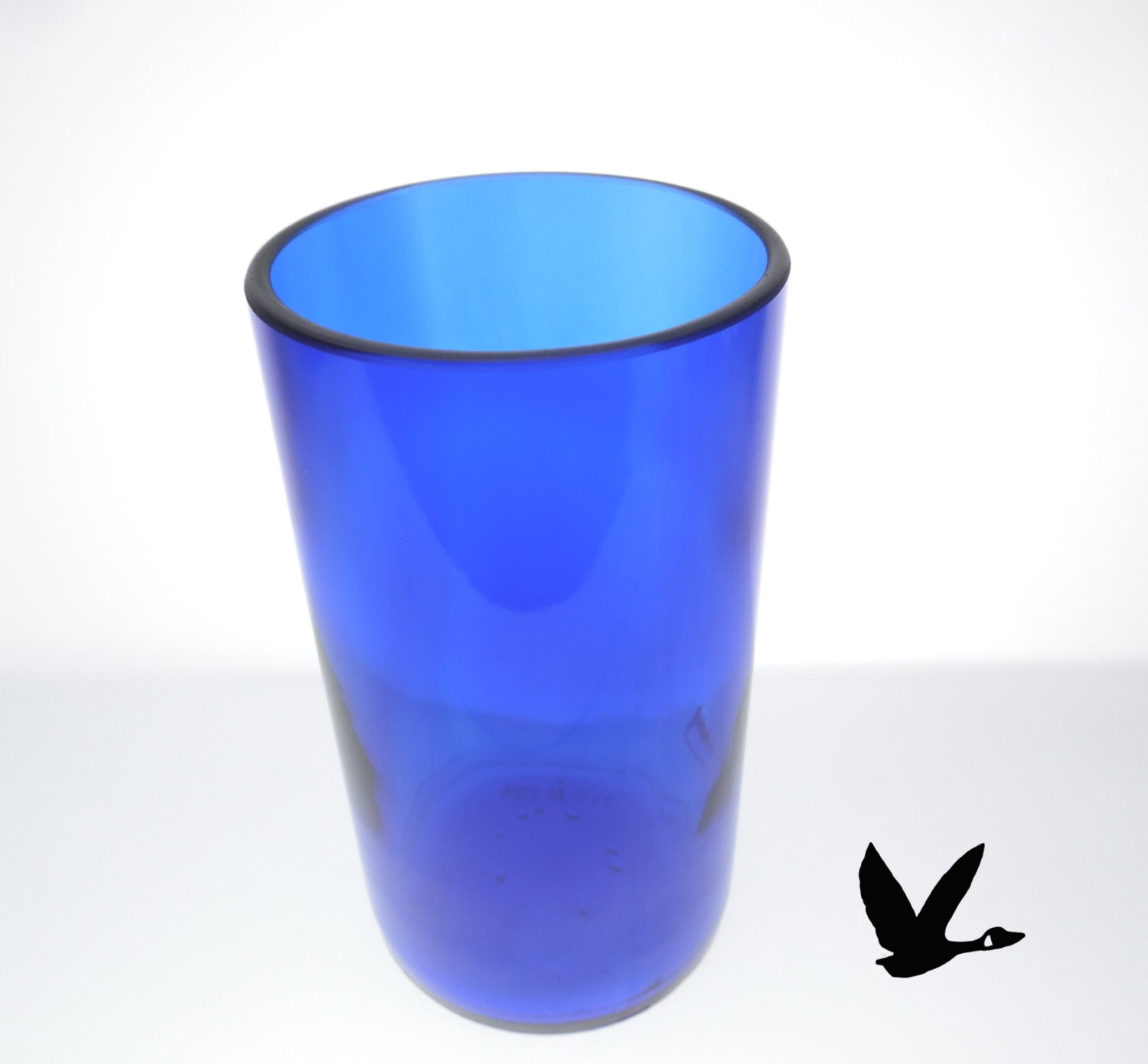 Skinny Tumbler Skyy Vodka Booze Gift Idea 21st Birthday Blue