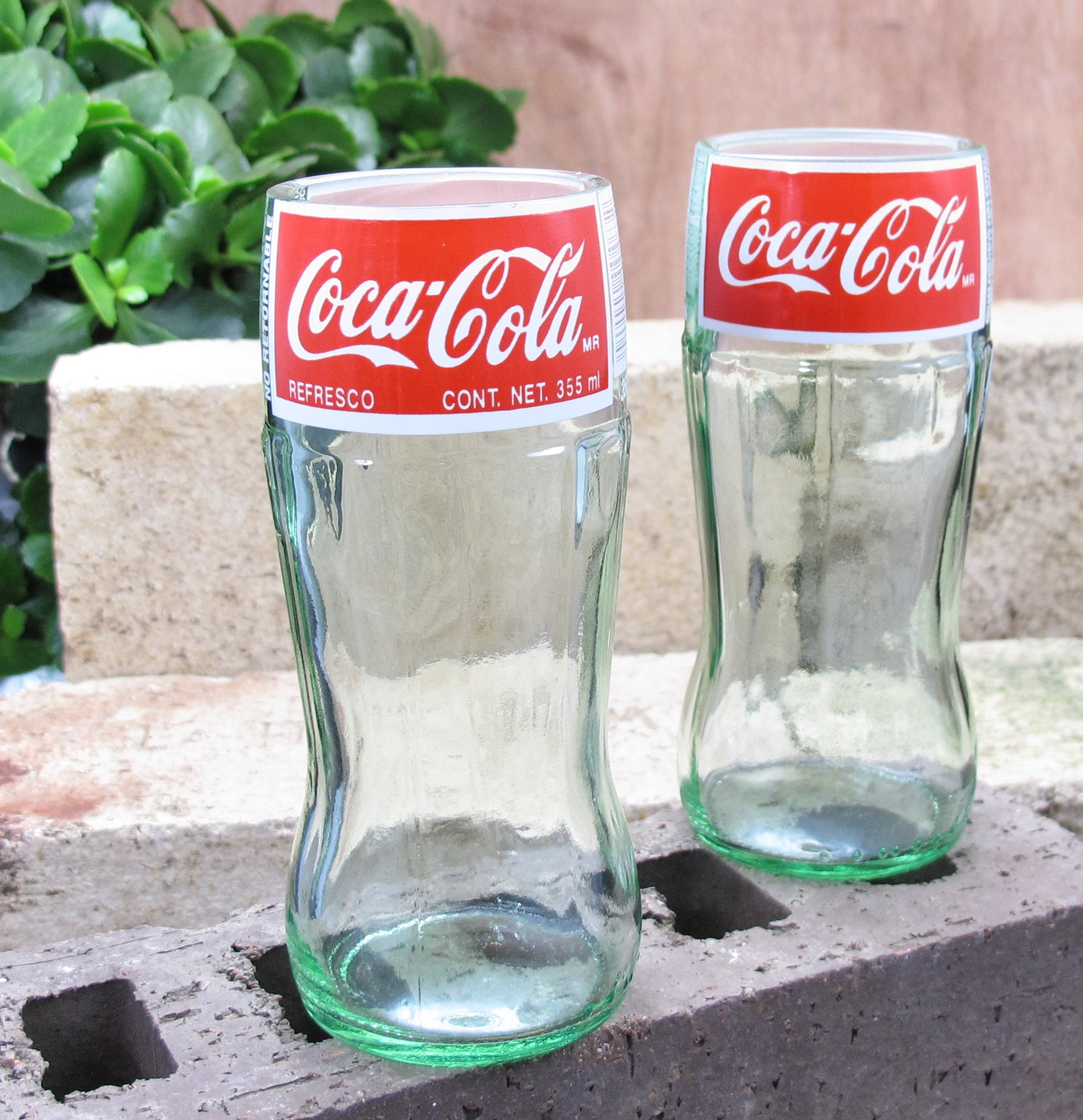 coca cola bottle drinking glass set coca cola glass fun xmas gift unusual gift wife cool christmas gifts uncommon gift meaningful gifts soda