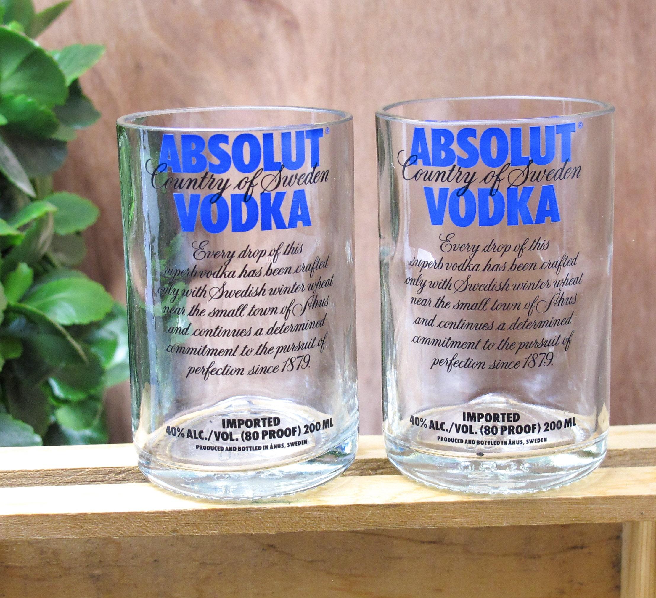 Wodka Themen Geschenk Absolut Vodka Tabelle doppelte Wodka | Etsy