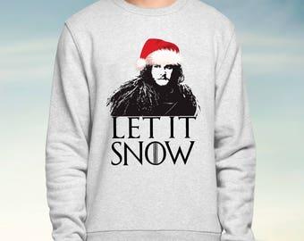 Gaming Kersttrui.Jon Snow Sweaters Etsy
