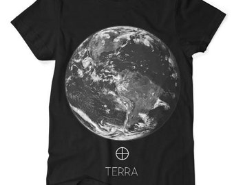 Earth 'Terra' TShirt Black